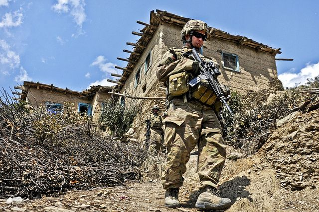 Afghanistan Patrol With Images Military Heroes Infantry