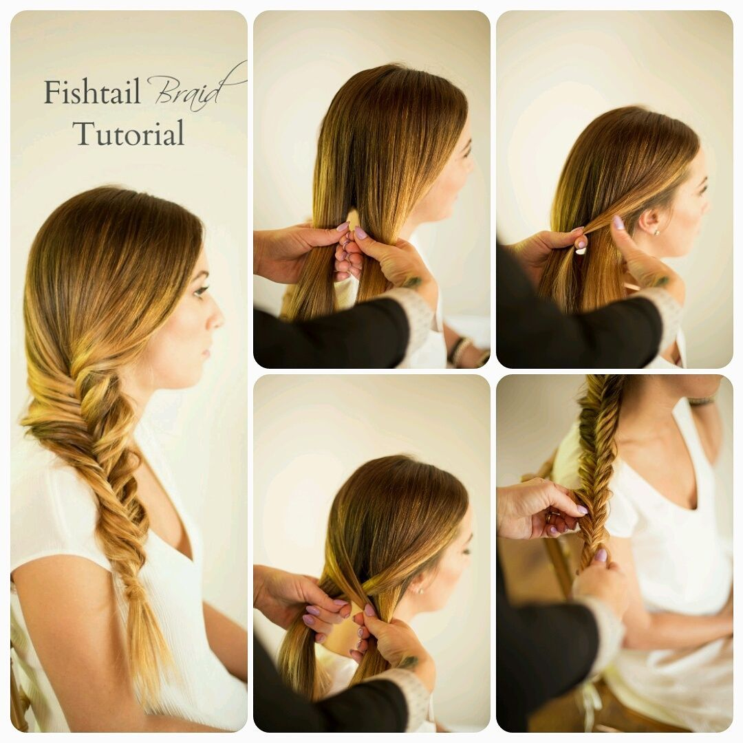 Learn how easy it is to do a fishtail braid on yourself with our ...