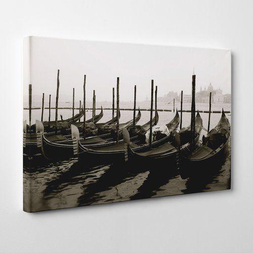 "Photo of Big Box Art Canvas Print ""Gondolas Venice Italy"", Photo Print | Wayfair.de"