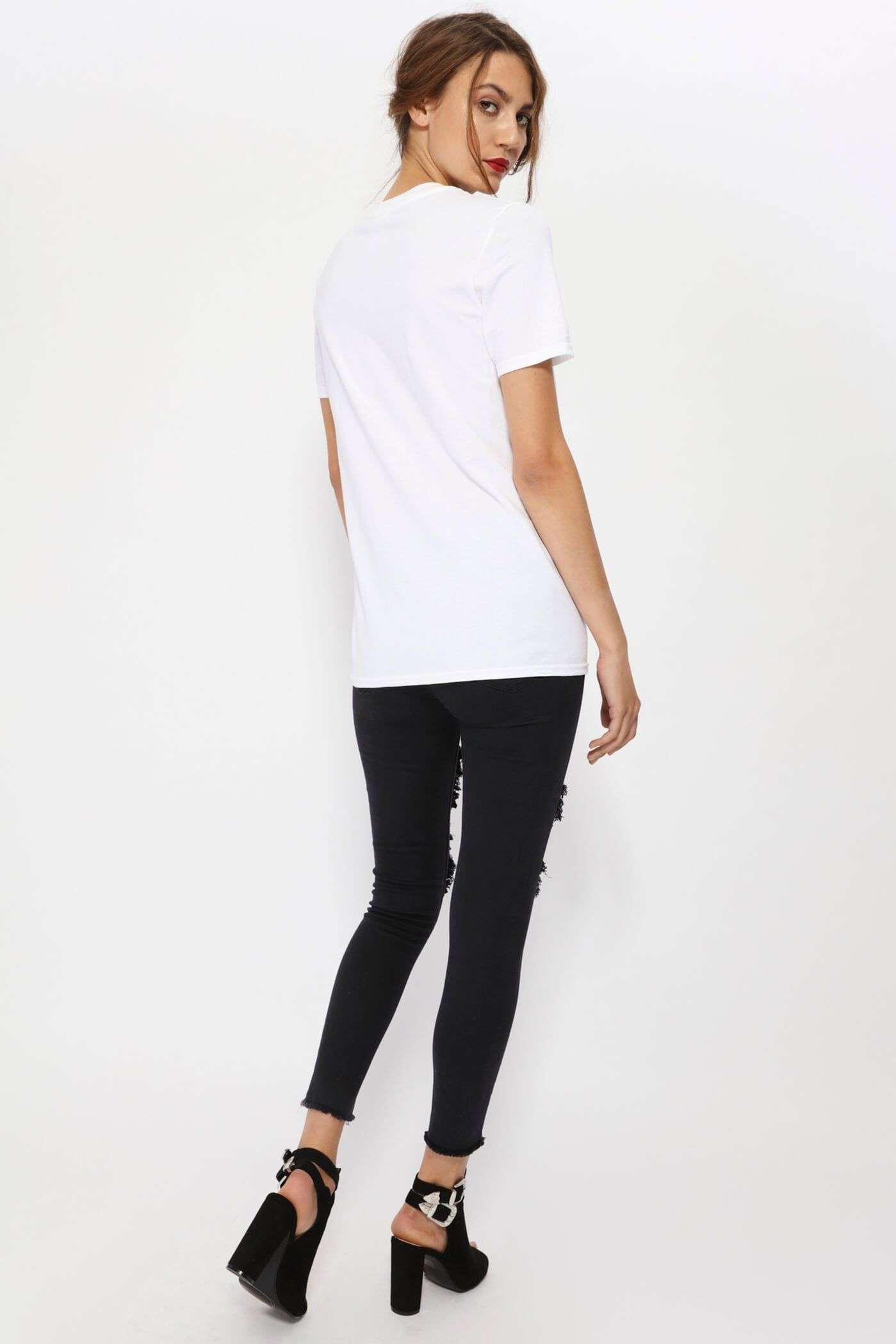 White Manchester Bee T-Shirt