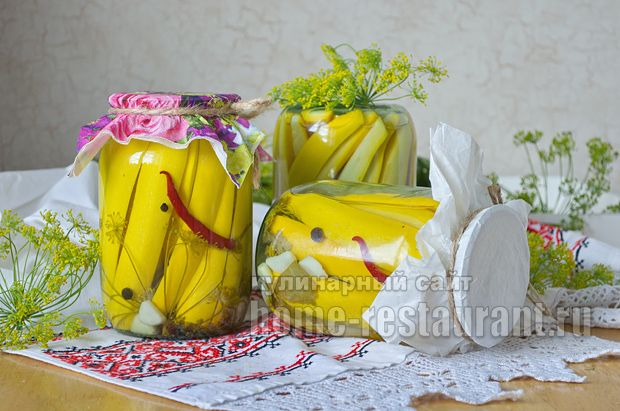 цветная капуста с кабачками на зиму рецепты с фото