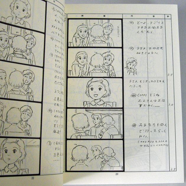 Resultado de imagem para storyboard hayao miyazaki