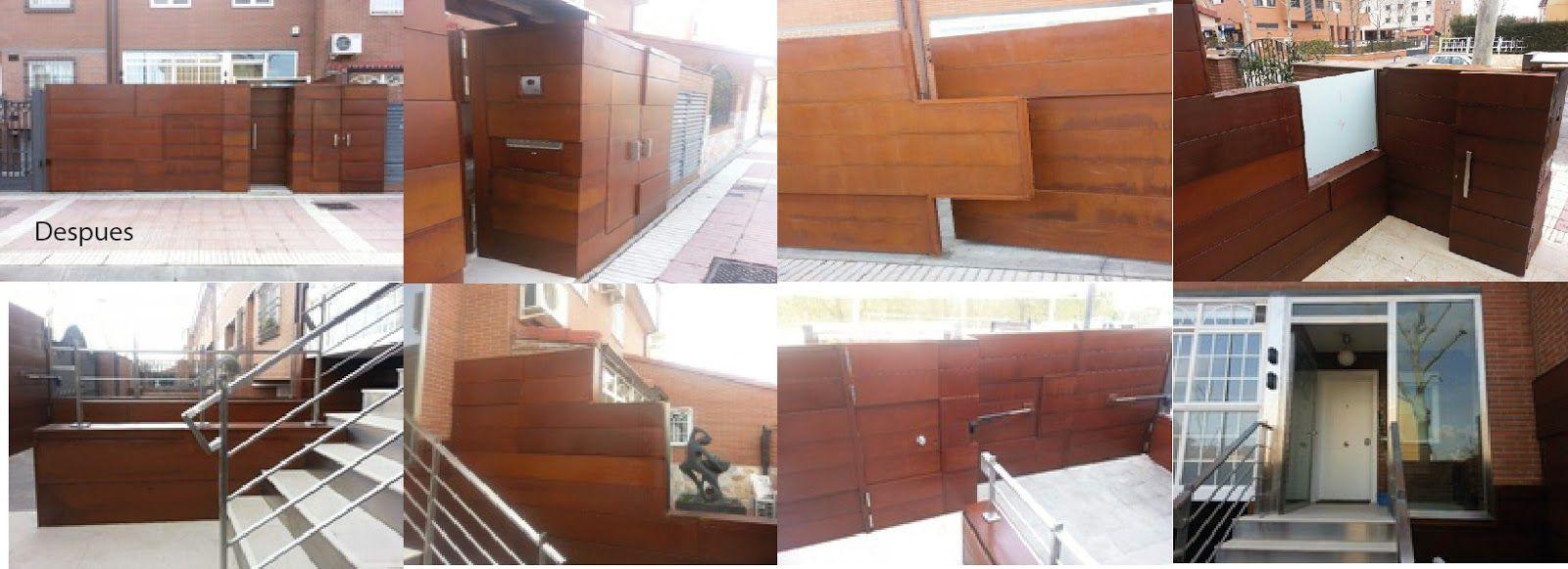 Fachadas acero corten galera courtesy of hvp la eleccin - Acero corten fachadas ...