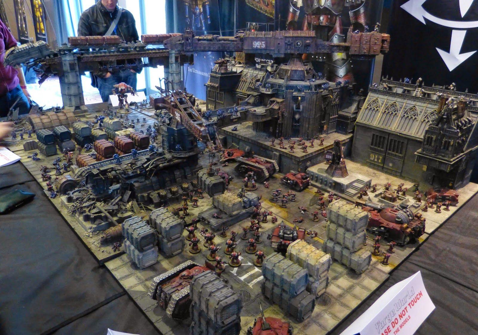 Recalcitrant Daze: Heresy Weekender 2015 - Calth Docks display