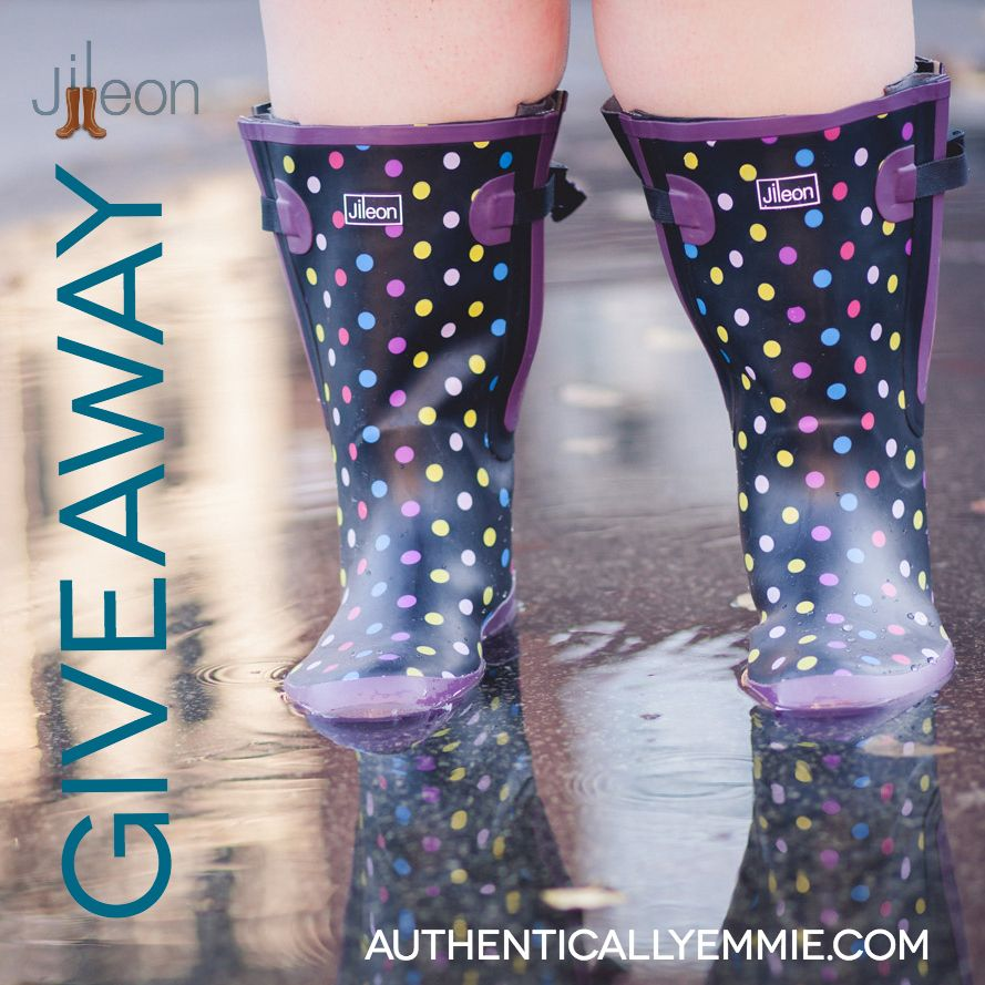 Wide Calf Rain Boot Giveaway from Jileon | The winter, I want and ...