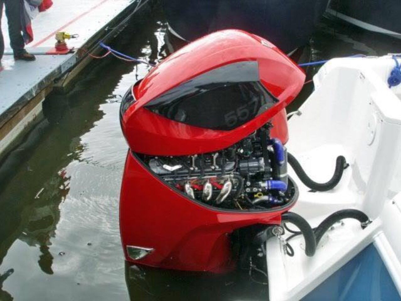 2015 seven marine 627 hp outboard pinterest for General motors marine engines