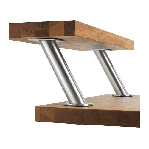 CAPITA Bracket IKEA Create A Stylish Bar Solution And Get More Work Space By Mounting It On Worktop