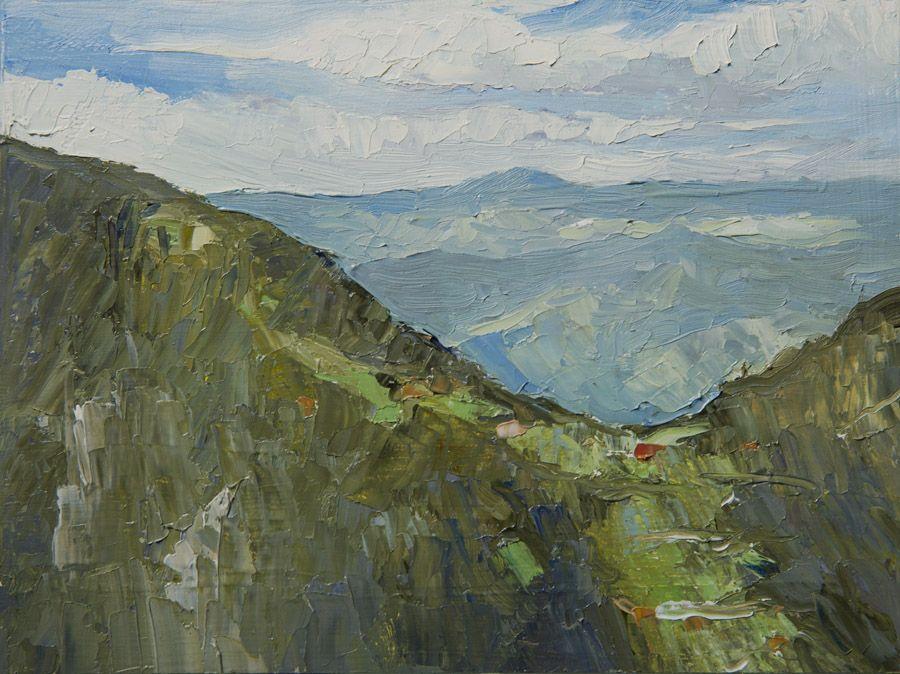Tara Viewpoint 8 X 6 Oil On Board Original Plein Air Oil Painting By Jethro Knight Www Paintingnature Co Oil Painting Nature Painting Plein Air Paintings