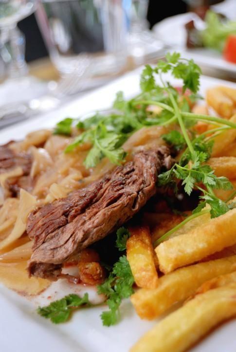 Bavette Ou Onglet A L Echalote Recipe Cooking Food Steak