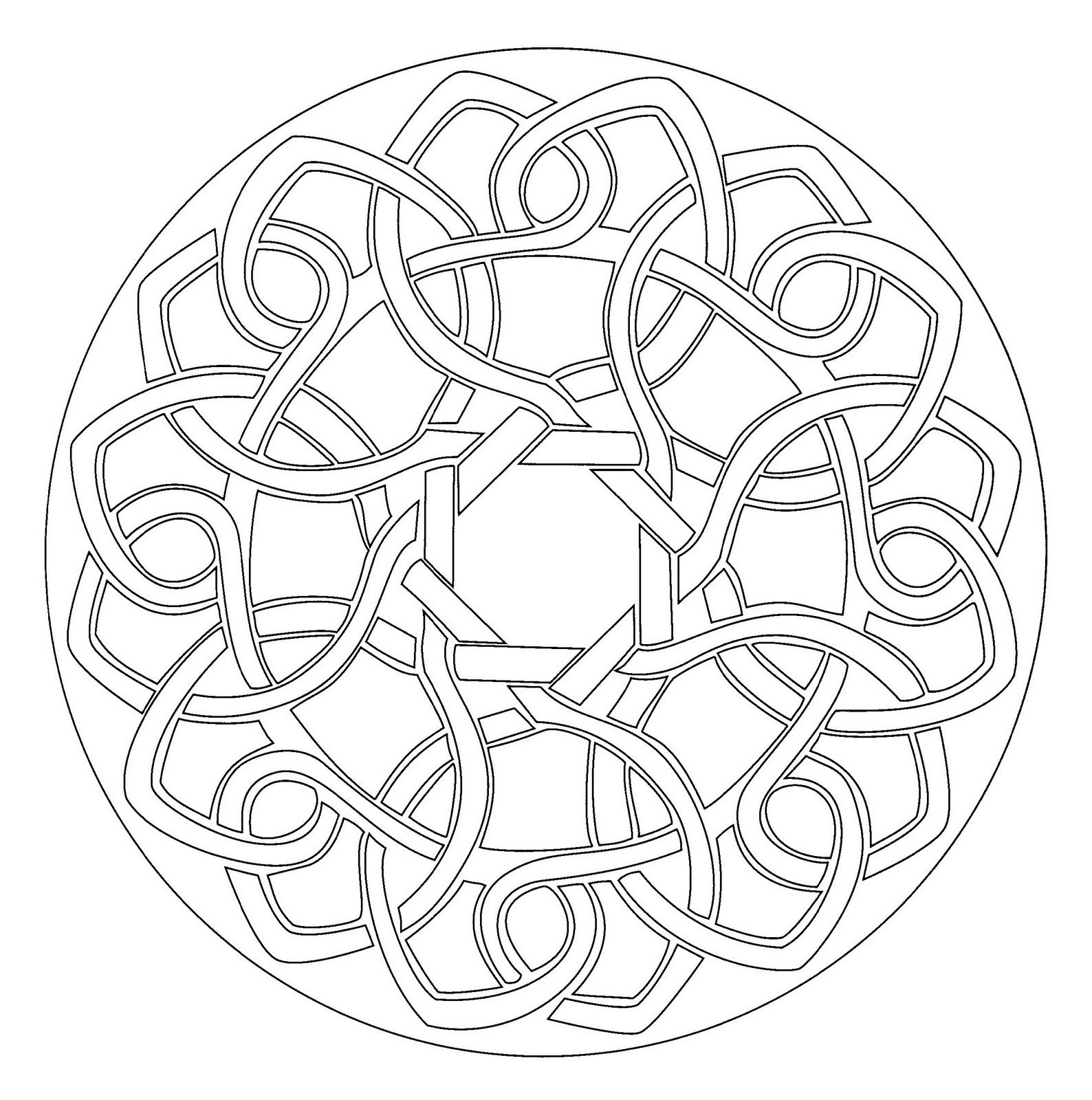 sacred geometry coloring pages - Google Search | Colouring ...