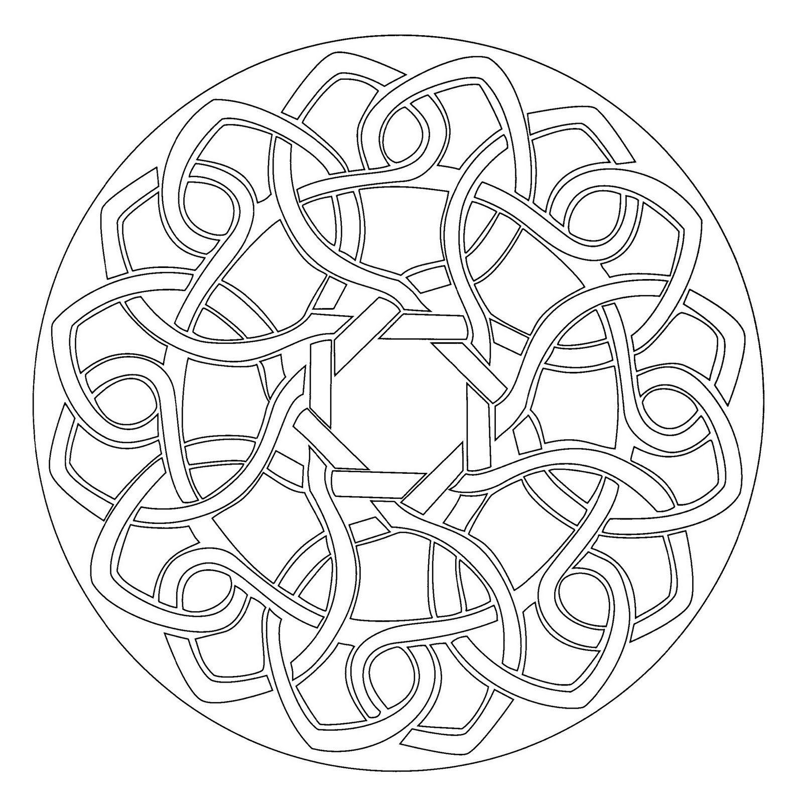 mandala celta | MANDALAS | Pinterest | Mandalas y Dibujo