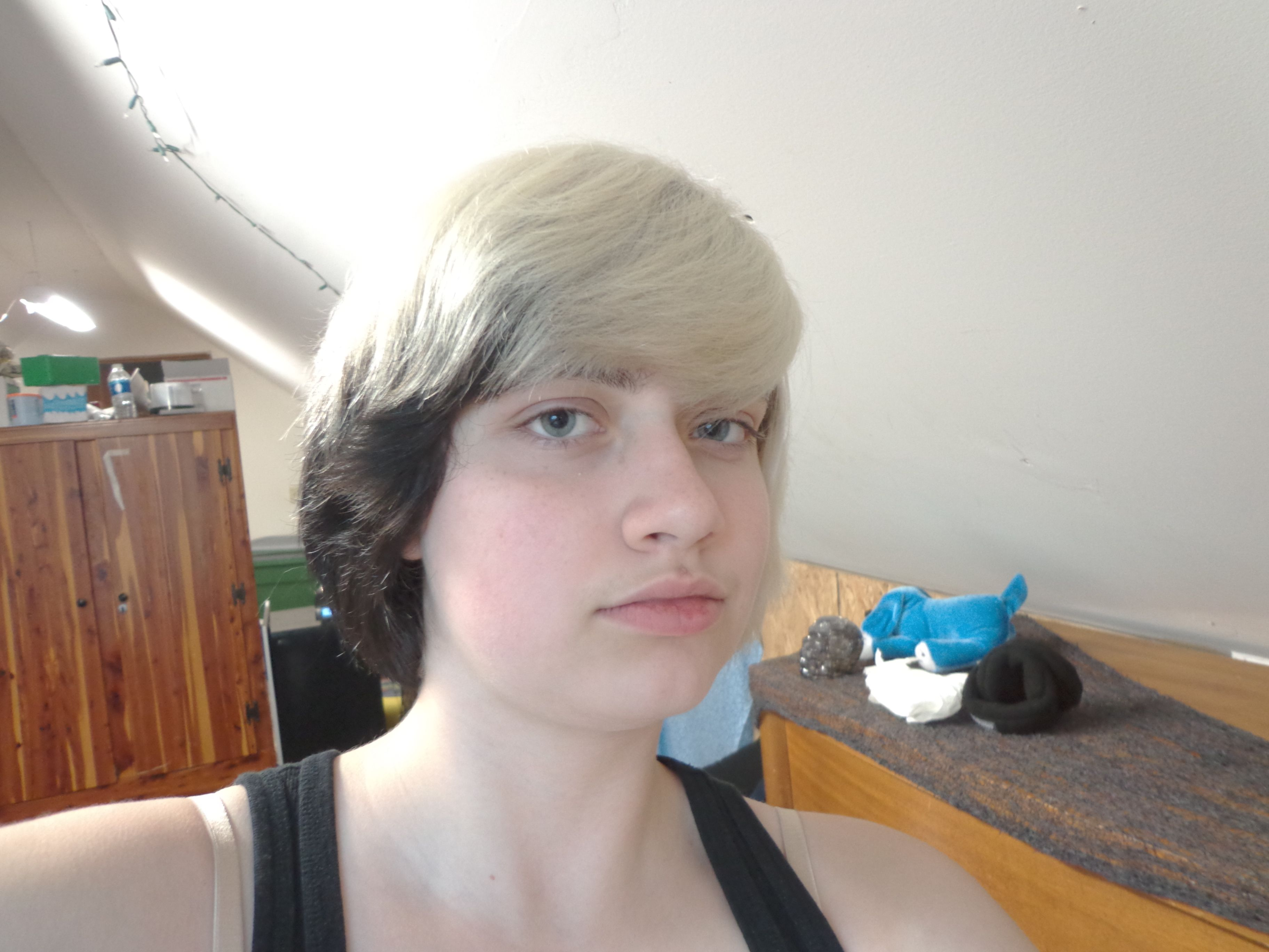 Starting With Dark Brown Hair I Bleached My Hair Four Times Toned