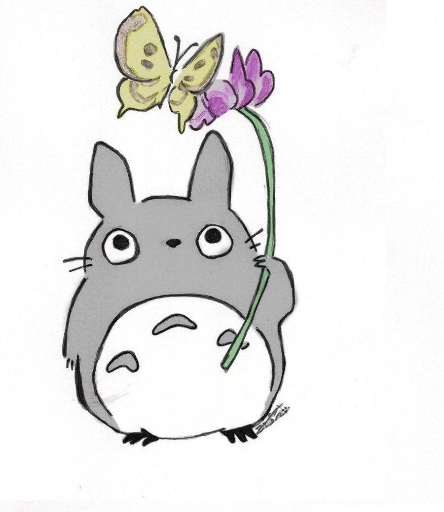 Totoro Cute Displaying 19 Images For Chibi Totoro Drawing