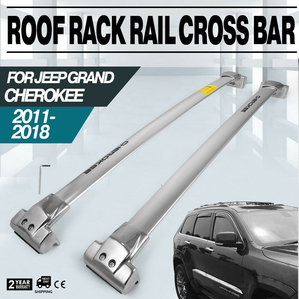 Sponsored Ebay Roof Rack For 2011 2019 Jeep Grand Cherokee Silver Color Set Carrier Baggage Roof Rack Jeep Grand Cherokee Jeep Grand