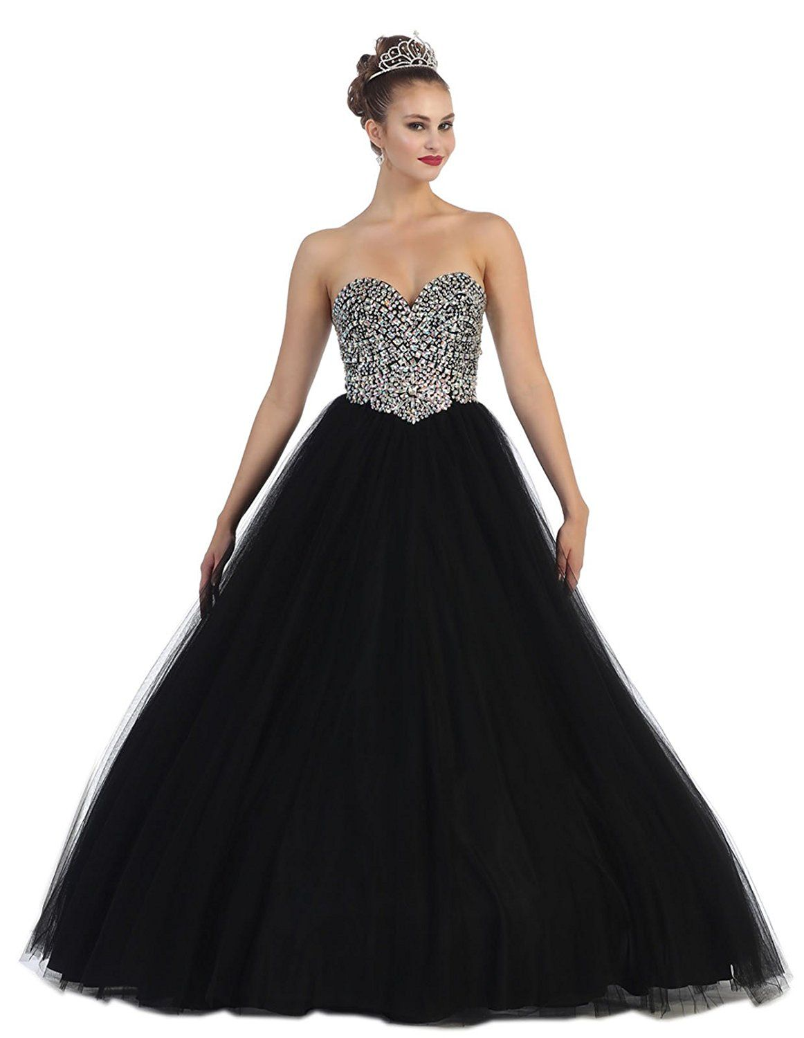 30a83e2ecf Layla K LK70 Strapless Sweet 16 Ball Gown     Be sure to check out ...