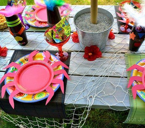 Como decorar una fiesta hawaiana para ni os cumplea os - Como adornar una fiesta de cumpleanos ...