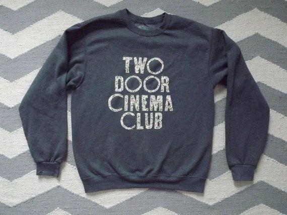 Two Door Cinema Club Crewneck Sweatshirt & Two Door Cinema Club Crewneck Sweatshirt | DIY clothes | Pinterest ... Pezcame.Com