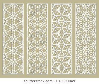 2018 年の abstract cutout panels for laser cutting decorative