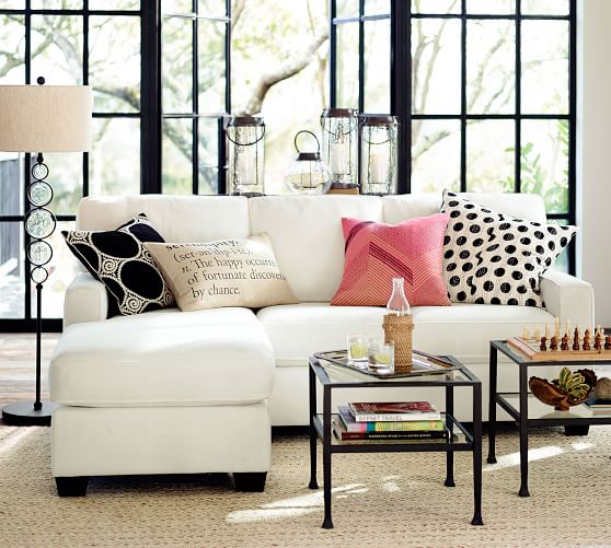 Small Sofas Small Sectionals Pottery Barn Upholstered Sectional Sectional Sofas Living Room Sofa Decor