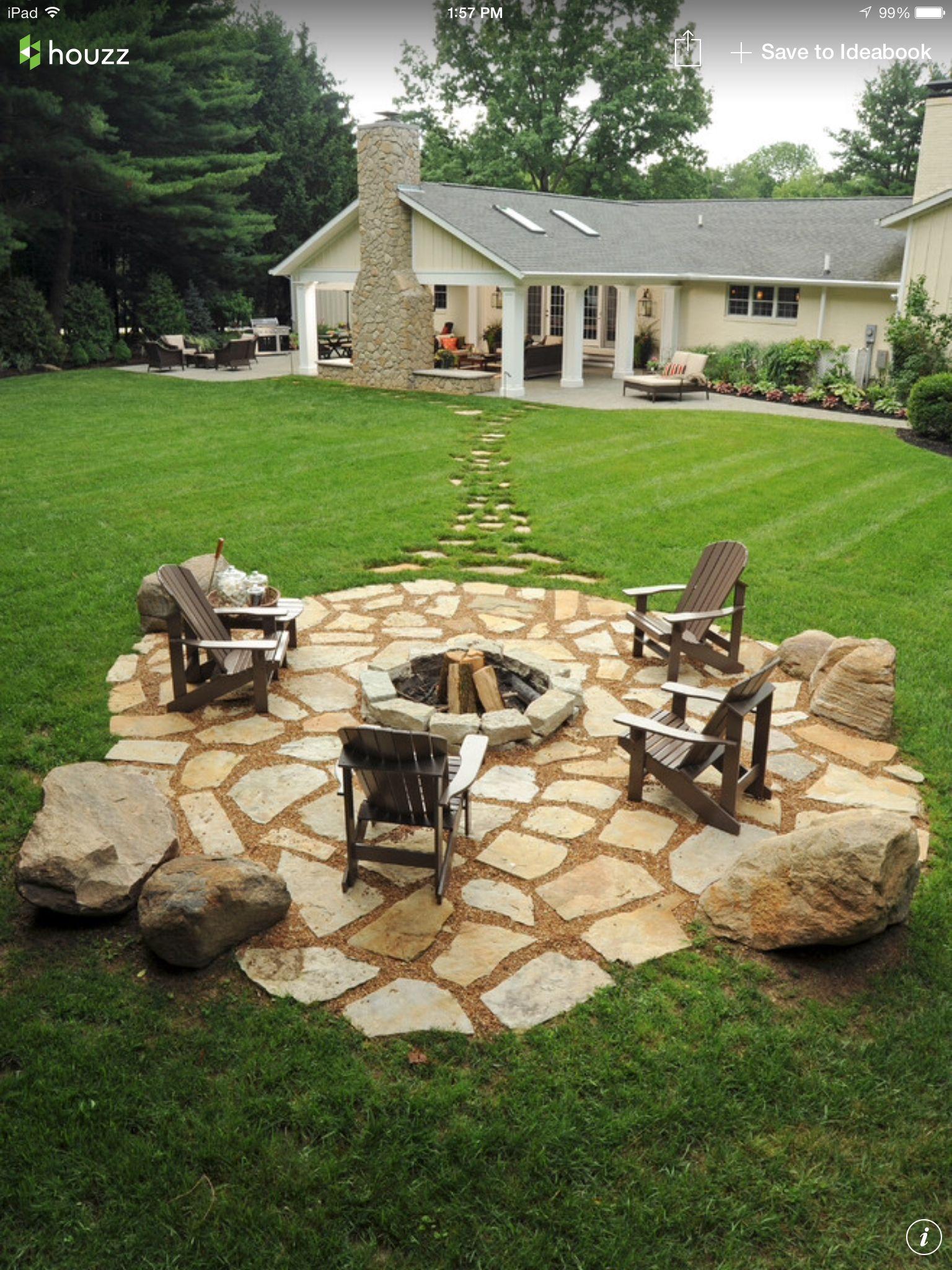 Yes, yes, pleeeeeeze!ew | Outdoor fire pit designs ...