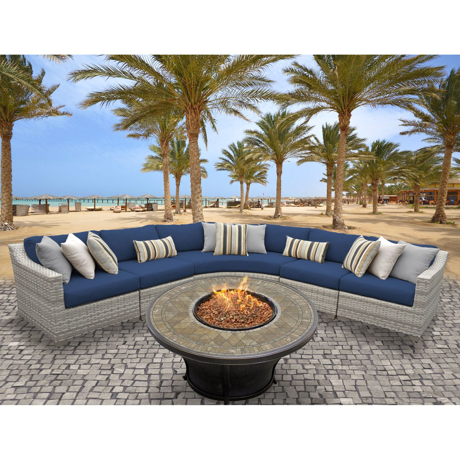 Customer Image Zoomed (With images) | Outdoor wicker patio ...
