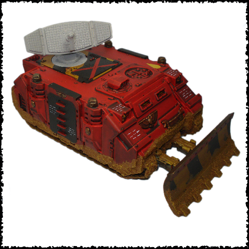 Command Vehicle Conversion | 3rd Party 40k bits and models