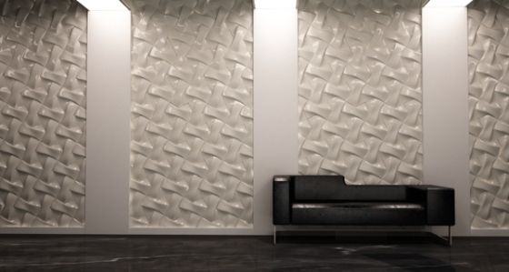 44 Ideen Für Erstaunliche 3D Wandverkleidung   FresHouse