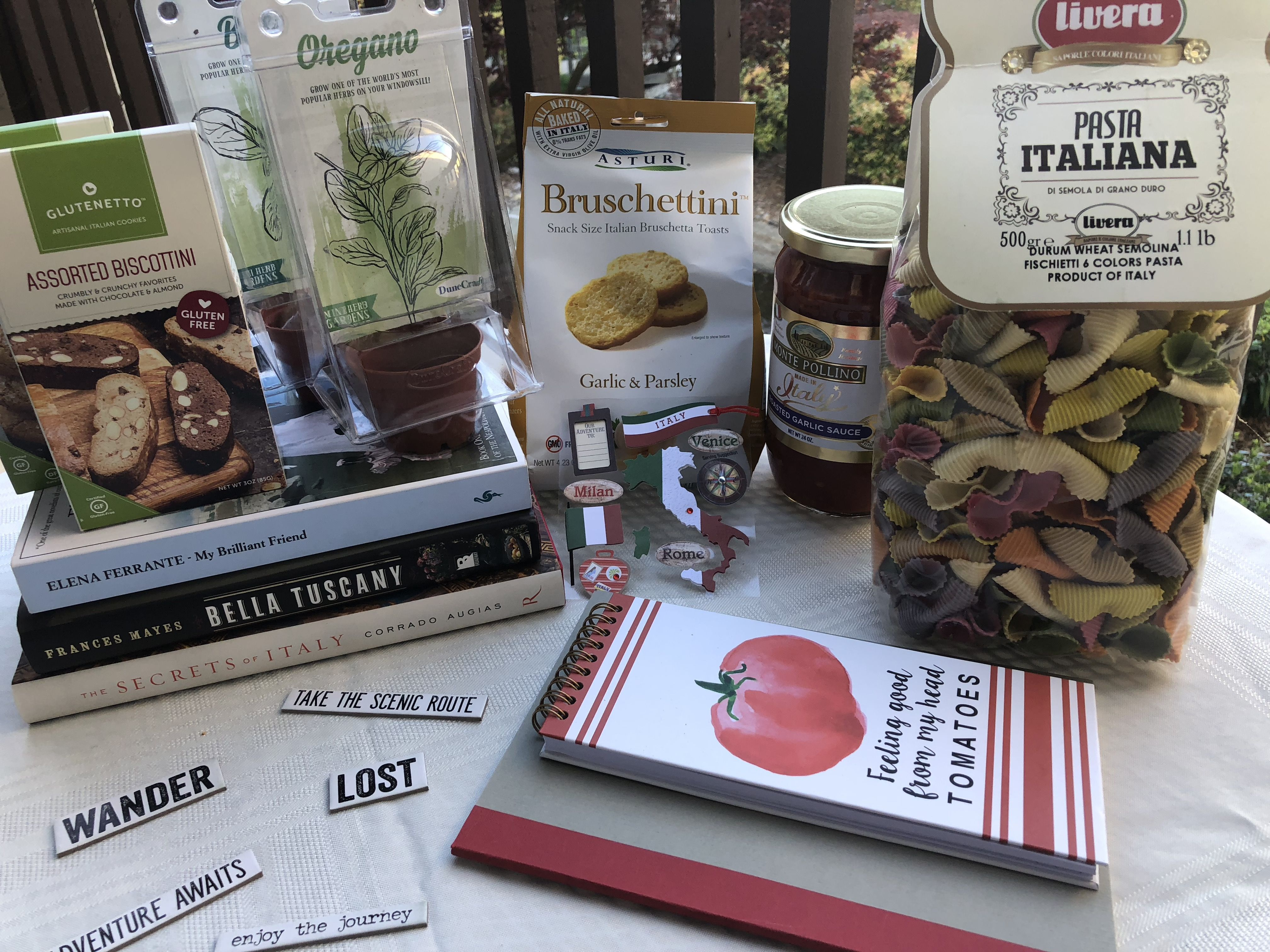Literary Excursion to Italy Subscription boxes