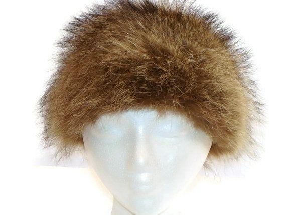 Vintage Fur Hat by marthasvariety on Etsy