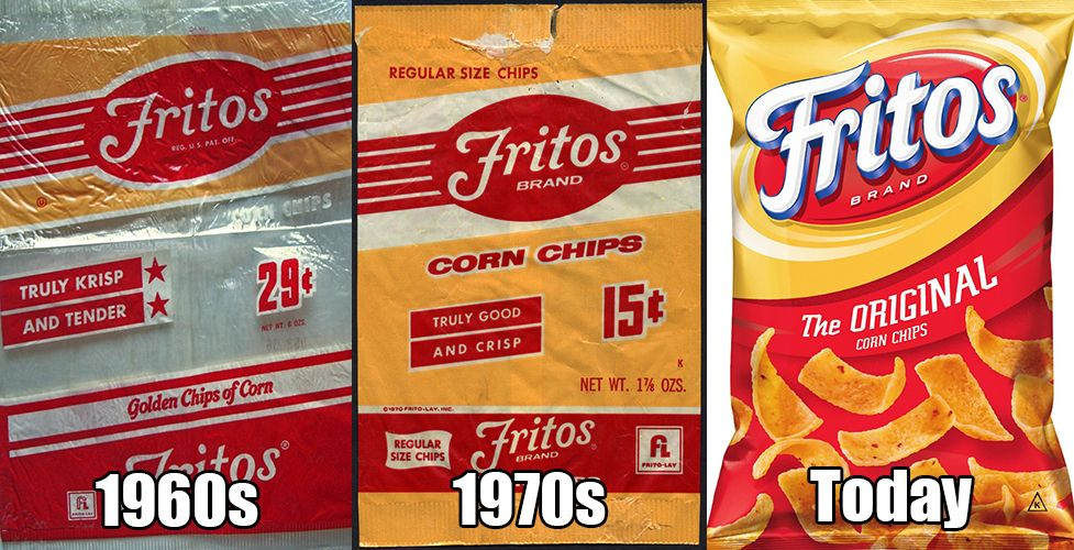 Metv Network Here S How 7 Chip Brands Have Changed Since We Were