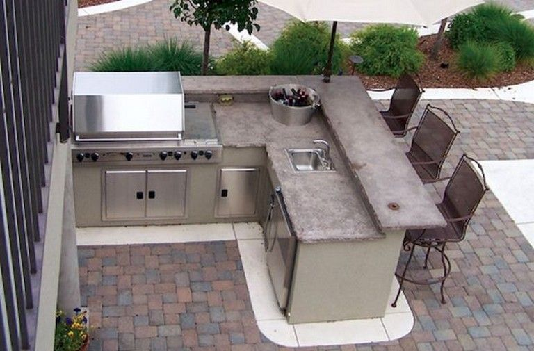 44 Amazing Outdoor Kitchen Ideas On A Budget Outdoor Kitchen