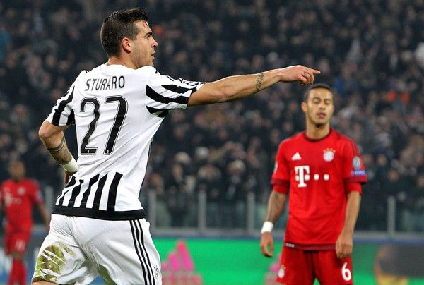 Juventus  v FC Bayern Muenchen  - UEFA Champions League Round of 16 #Sturaro