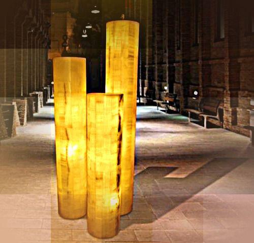 Onyx Floor Lamp Beautiful Stone Decor Marble Design Floor Lamp
