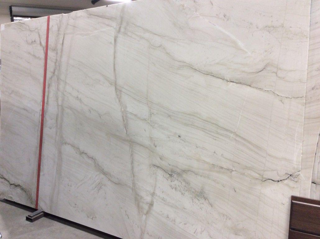 Calacatta Quartzite Leathered Granite Countertops Kitchen