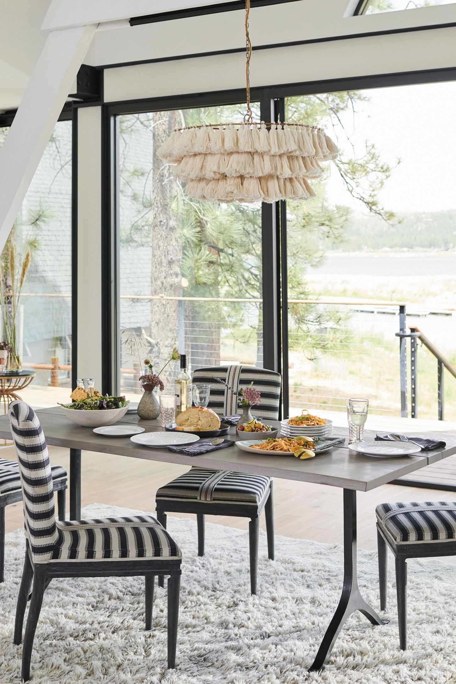 Grassland Stripe Dining Chair In 2020 Dining Chairs Dining Room Chairs Striped Dining Chairs #striped #living #room #chairs