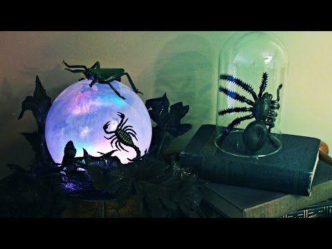 Halloween Witch\u0027s Crystal Ball Decoration Halloween DIY Crafts