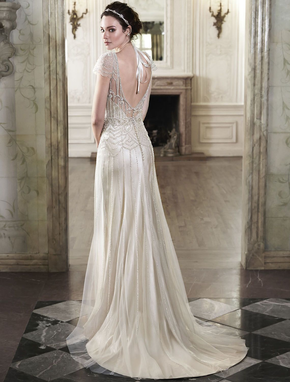 Bridesire - Etui-Linie Herz-Ausschnitt ärmellos Brautkleid [158621] - €209.83 : Bridesire