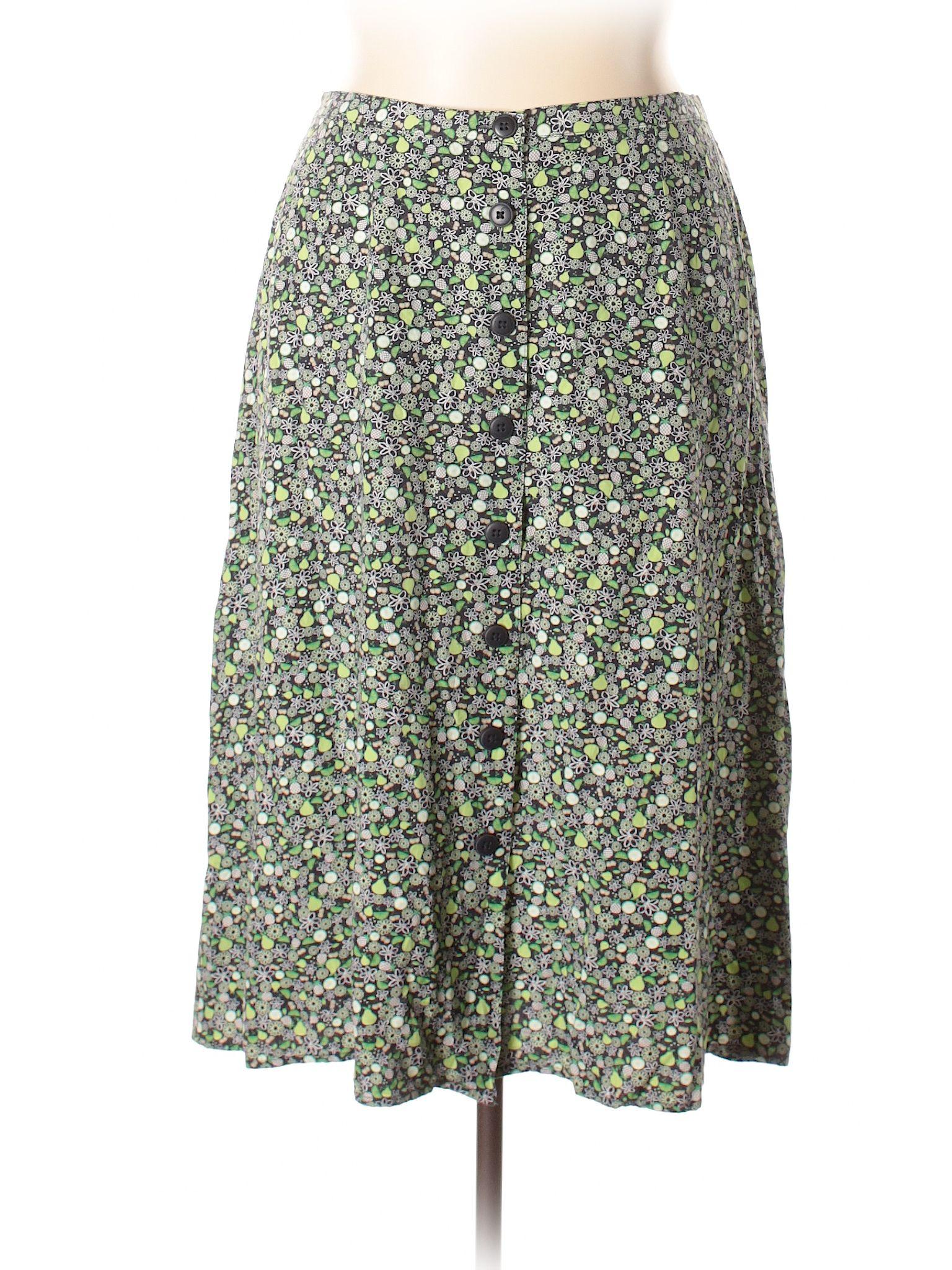 dd1f8030d6119 Cj Banks Casual Skirt  Size 18.00 Green Women s Bottoms -  11.99 ...