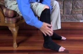 2 pár kompressziós zokni