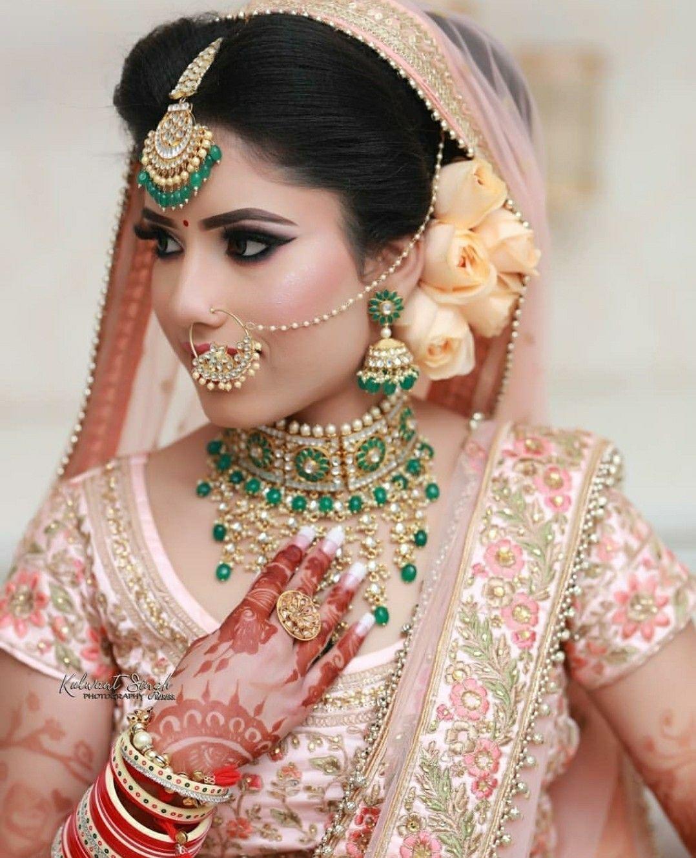 Nilofark07 indian wedding bride indian bride makeup