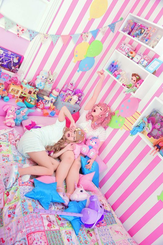 Kawaii Room Japanese Fashion Pinterest Kawaii Bedroom