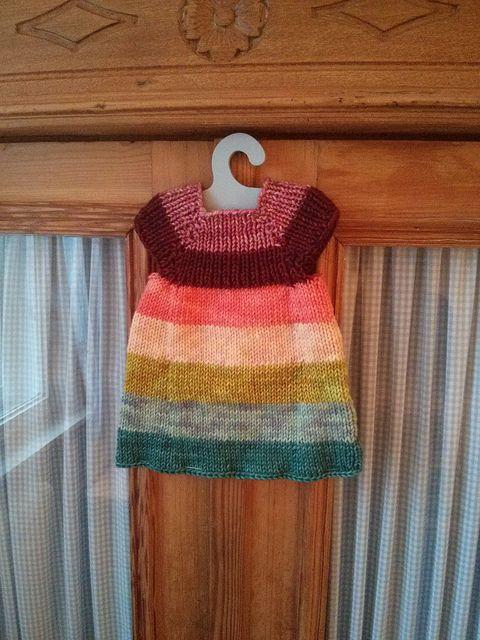 Ravelry: waldorfmanufaktur's Christmas 2013: Pauline's Rainbow Bloom Tunic