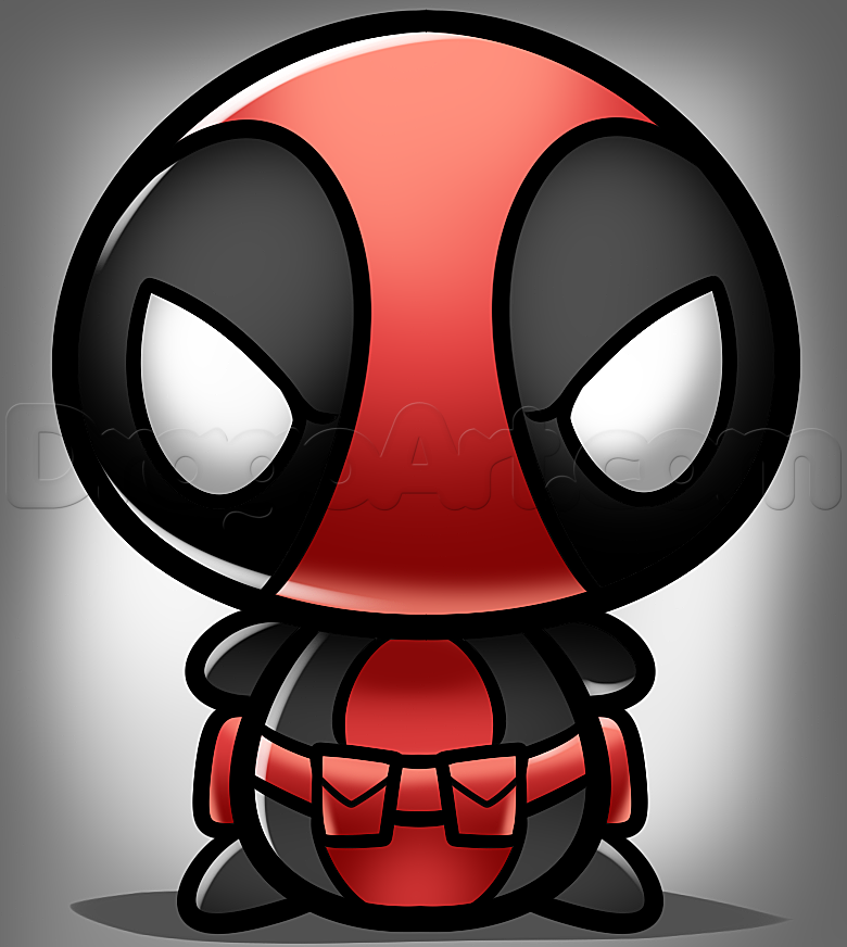 How To Draw Kawaii Deadpool Cool Stuff Pinterest Deadpool And Character Drawing