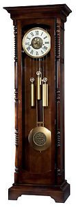 Howard Miller Kipling Floor Clock in Tobacoo Brown - 611206 | eBay