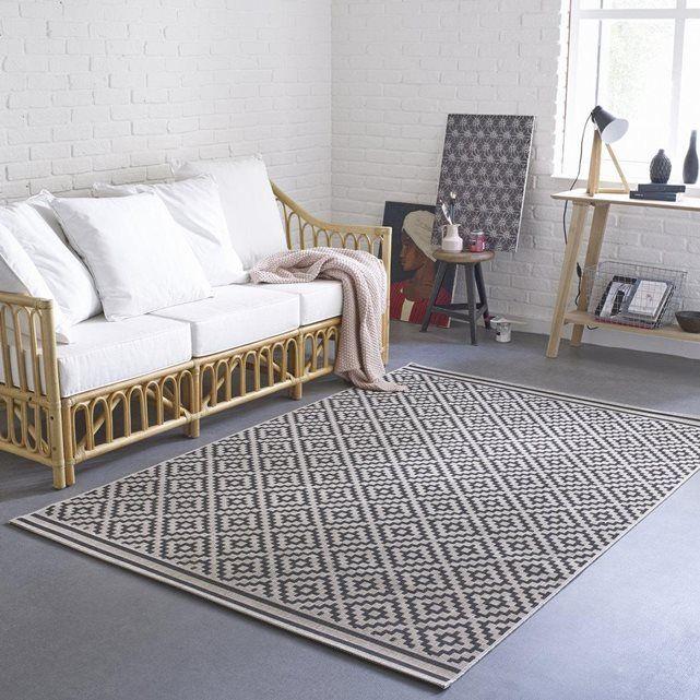 tapis tisse a plat indoor outdoor akar