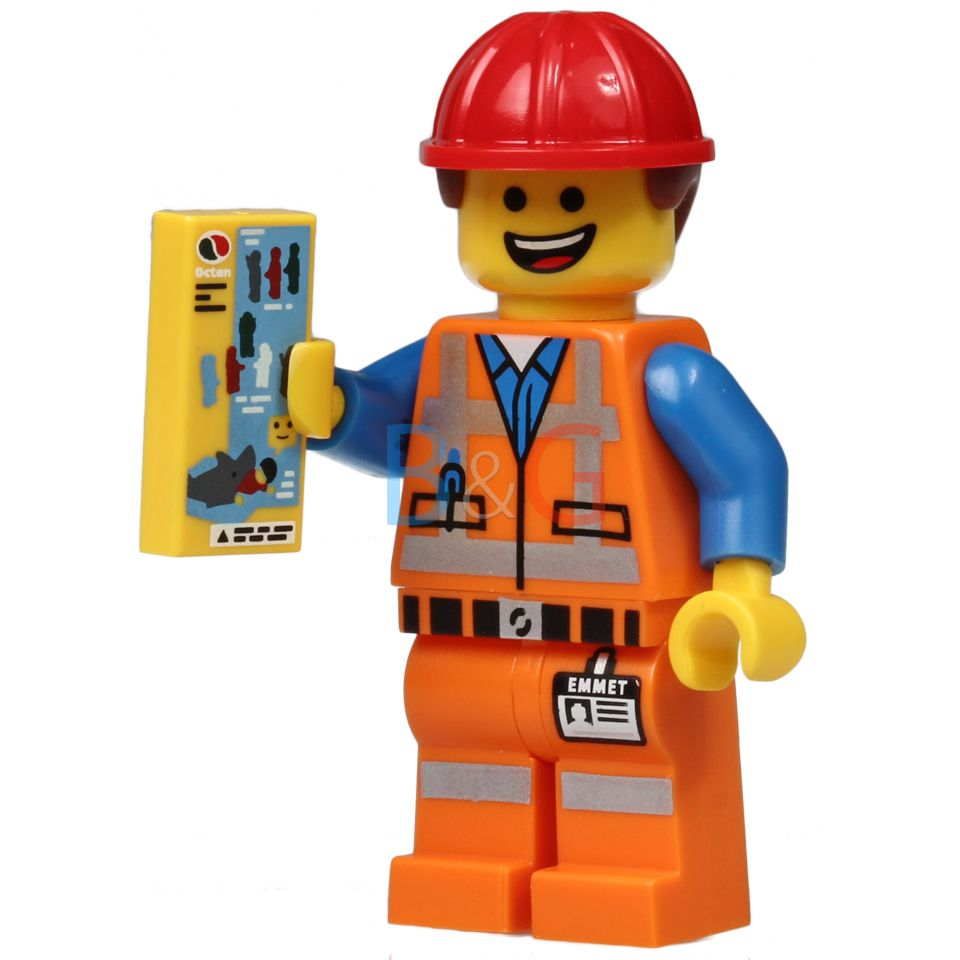 Hard Hat Emmet From The Lego Movie Minifigures Lego