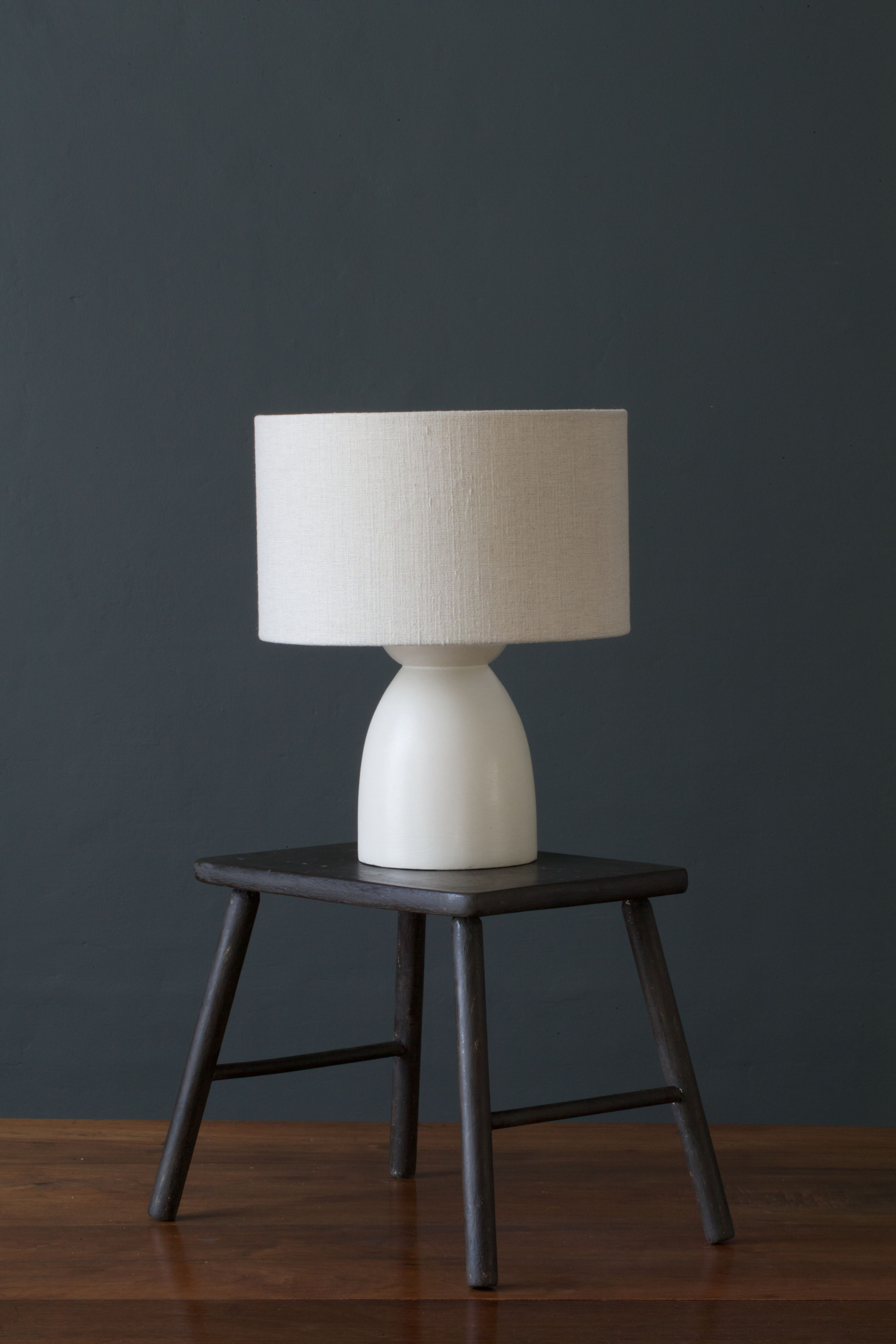 Handmade and hand painted table lamp this is our own mix of handmade and hand painted table lamp this is our own mix of country grey geotapseo Gallery