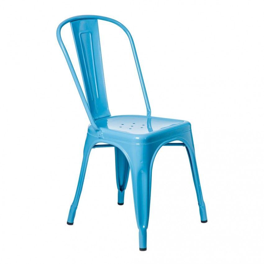 Chaise A Bleu Azur