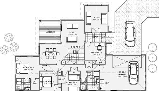 212 Plan House Plans How To, Most Popular One Level House Plans