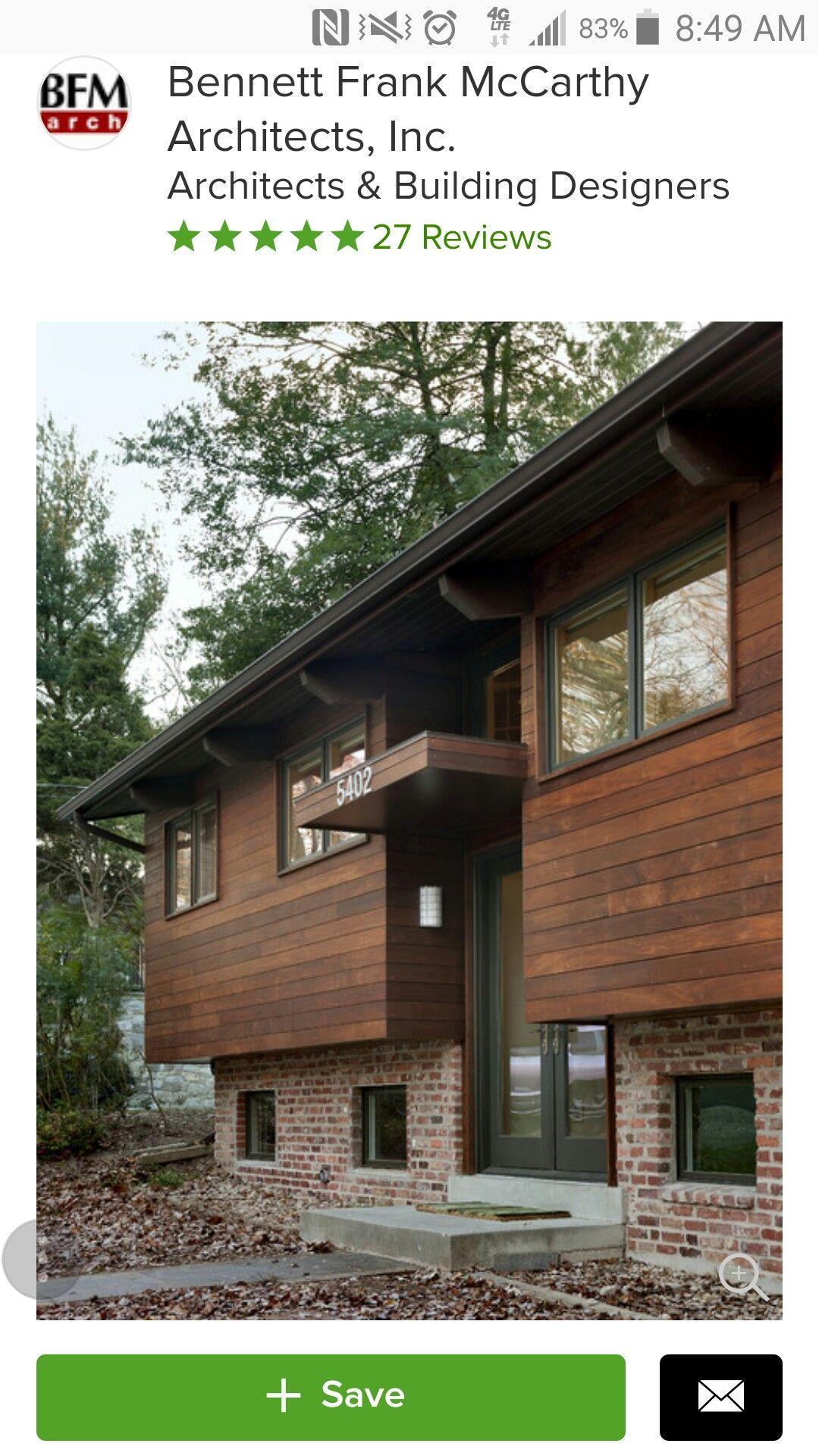 Best Houzz Mid Century Exterior Remodel Exterior House Colors 640 x 480